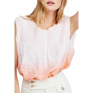 Little Bit of Something Ombre Blouse